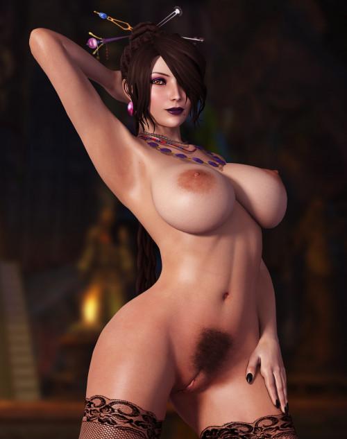 Lulu (Final Fantasy X) assembly 3D Porno
