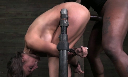 Amber Rayne Assfucked By 2 Big Dicks BDSM