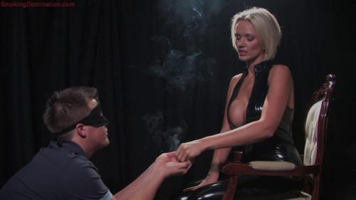 Mistress Lucy Zara Dominates Male Slave