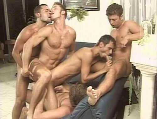 Track Outdoor Orgy Gay Retro