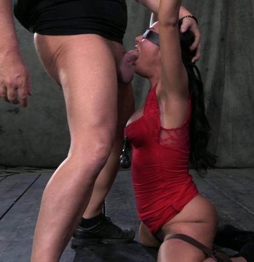 Lush Porn Star Mahina Zaltana Turned Into A Fire Hydrant BDSM