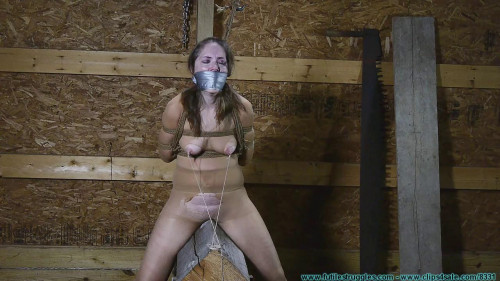 Rachel Rides the Pony After being Crotch Chained 3 part