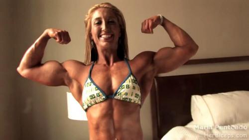 Maria Rita Penteado - Fitness Model Female Muscle