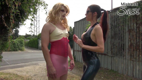 The Public Street Pimping Femdom and Strapon