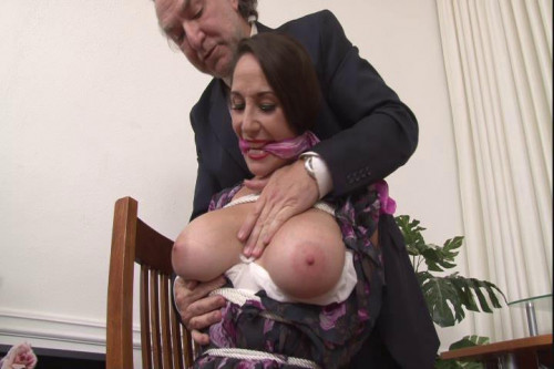 Bound and Gagged – Boss Ties Secretary at the Office – Jewell Marceau