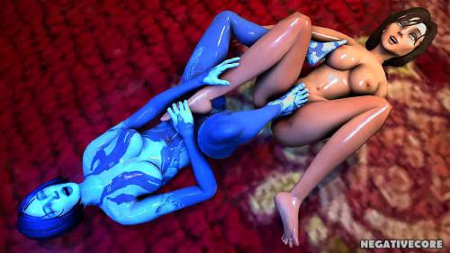 Cortana Assembly 3D Porno