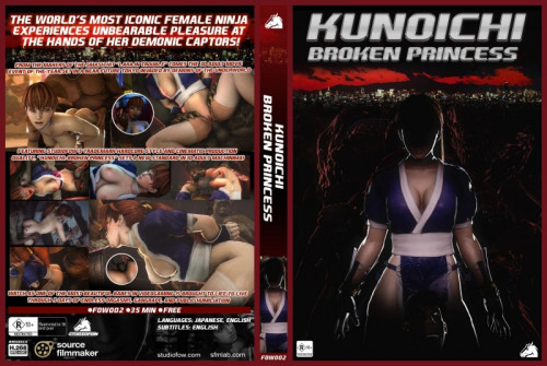 Kunoichi - Broken Princess - 3d HD Video