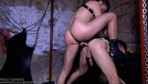 YoungBastards - Bound Greg gets exploited and fucked