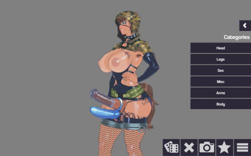 Svetlana's Dressup Hentai Games