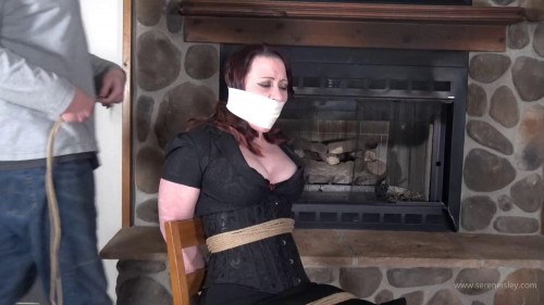 Serene Isley: Chair Tied Clamped and Tormented