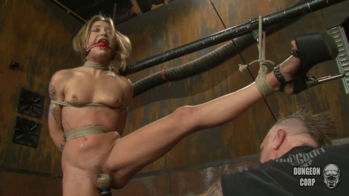 Bondage, spanking, strappado and torture for hot bich part 1 Full HD