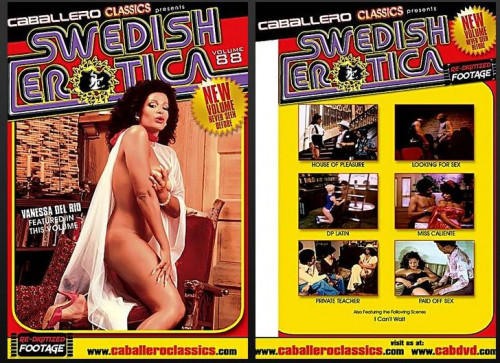 Swedish Erotica 88: Vanessa Del Rio (Caballero Home Video)