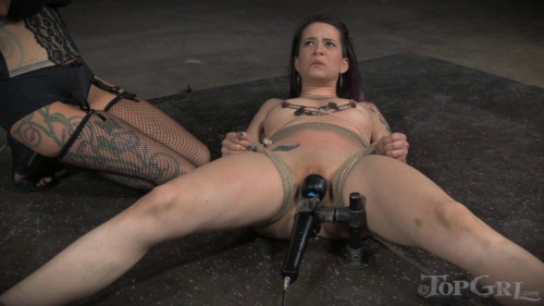 TG - Freya French and Rain DeGrey - Boiler Room Pet - HD BDSM