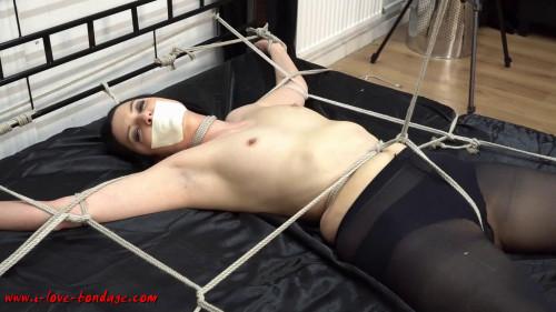 I love Bondage - Nina ticklish and helpless