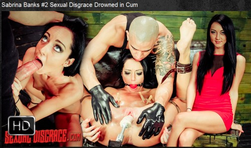 Sexualdisgrace - Dec 24, 2015 - Sabrina Banks #2 Sexual Disgrace Drowned in Cum