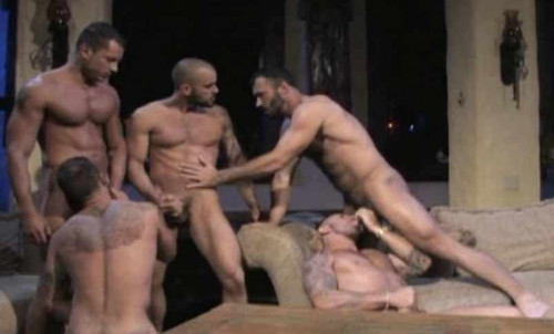 Muscle Men In Orgy Compilation