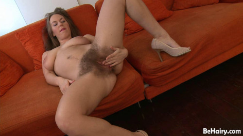 Lace and a massive bush Hairy