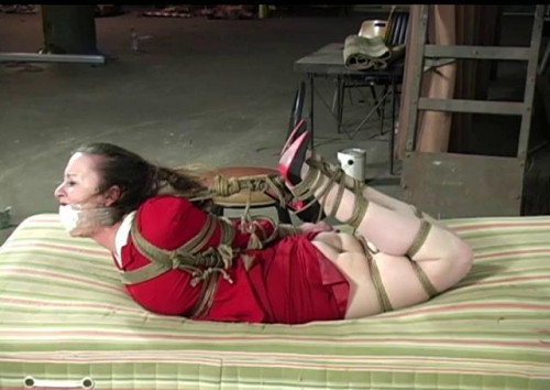 Serene Isley Hogtied Tight In her Power Suit Part 2 BDSM