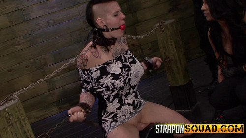 Jynx Hollywood Chained to the Sybian by Mena Li And Lexy Villa (2014)