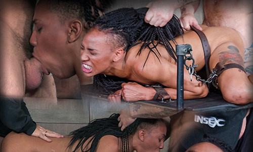 Nikki Darling is throat overloaded