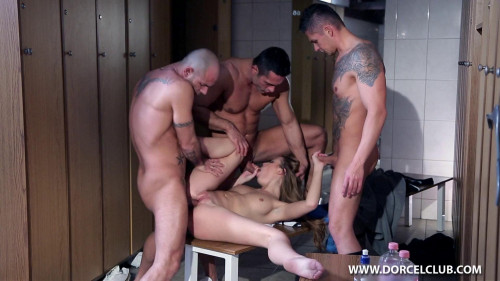 Alexis Crystal Fucked By 3 Men After The Soccer Game