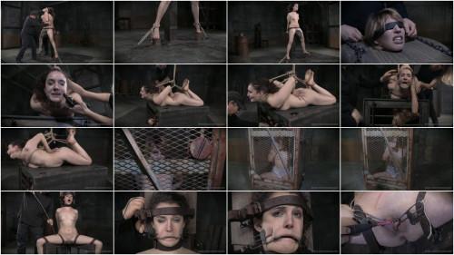 Endza Rides The Brutal Wooden nag BDSM