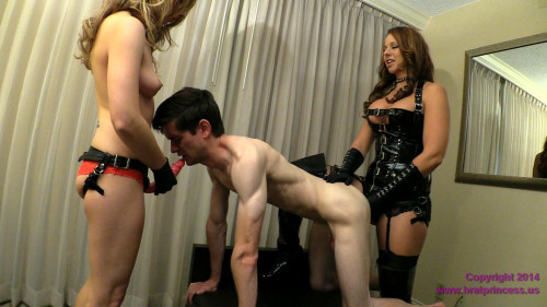 Brianna and Lola Femdom Family Birthday Pegging (2014)