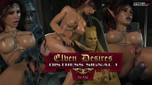 Elven Desires Distress Signal part 1