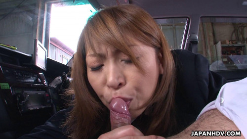 Hot Taxi Driver Jun Kusanagi scene2