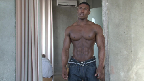 Pumping Muscle Dre Drew Photo Shoot Parts 1 and 2 HD Gay Extreme