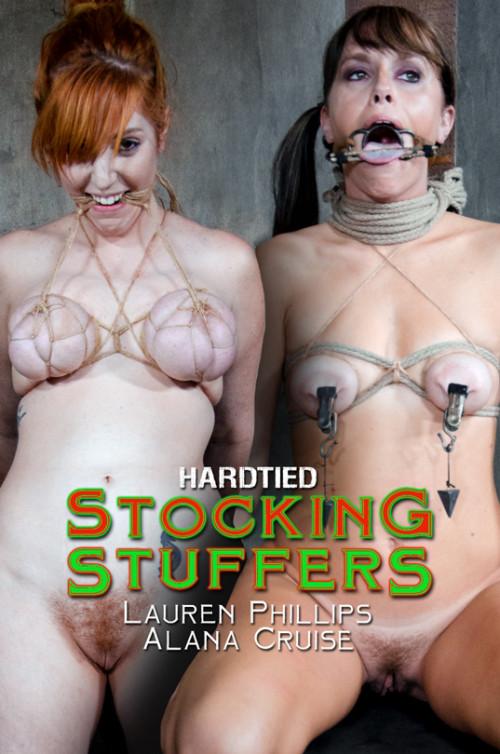 HTied - Alana Cruise, Lauren Phillips - Stocking Stuffers BDSM