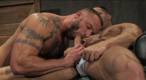 Huge-cocked man sex Gay Movie