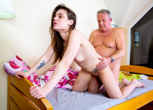 Nana Garnet - Harry FullHD 1080p Old and Young
