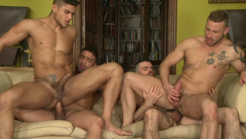 Raw Orgy In City