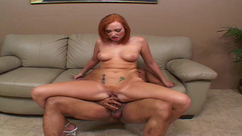 Sexy redhead slut loves BBC
