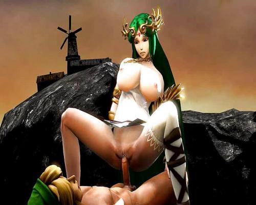 Princess Zelda 3D Porno