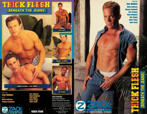 Thick Flesh Beneath the Jeans (1994) - Chance Caldwell, Eric Thomas Gay Retro