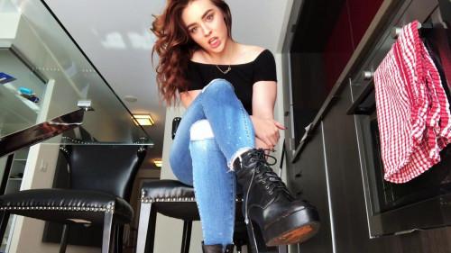 Goddess Angel - Bitch Boy For Boots Unusual Sex