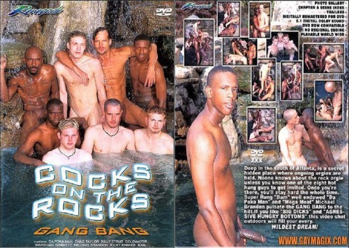 Renegade Video - Cocks on the Rocks Gangbang Gay Retro