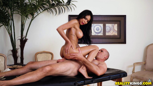 Lubed Up Latina Massage