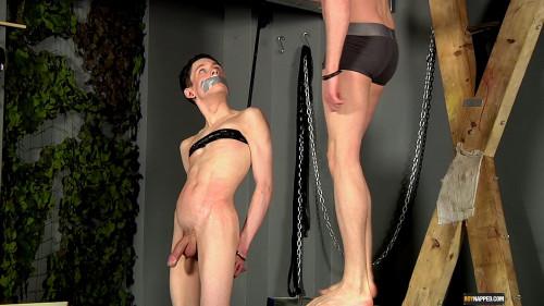 Aaron Spanked Gay BDSM