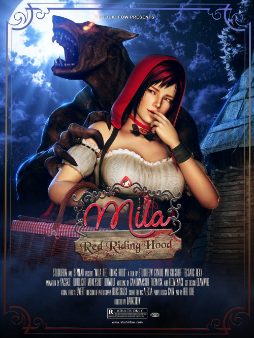 Mila Red Riding Hood 3D Porn