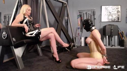 Bondage-Life - Isabella Torment Commentary BDSM Latex