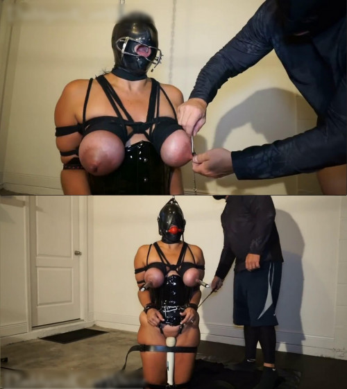 Hard bondage, strappado and torture for sexy hot slave girl