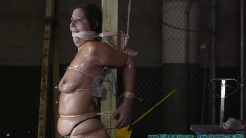 Futilestruggles Cruel Gags, Strait Jacket, Twine, Plastic Wrap, and Tape for Summer - Part 3 BDSM