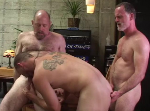 Muscle Bears In Suited Fuck