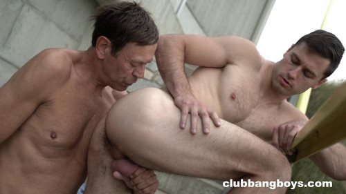 ClubBangBoys - Old Tim from Sweden in love with young Tomas Salek