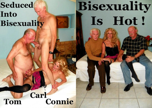 Seduced Into Bisexuality Mature, MILF