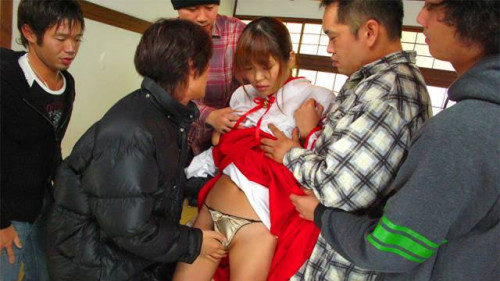 Yuuno hoshi acquires to smack real knobs after getting blackmailed