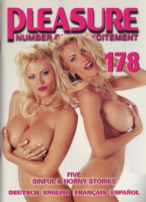 Pleasure vol 178,179,180 Porn Magazines
